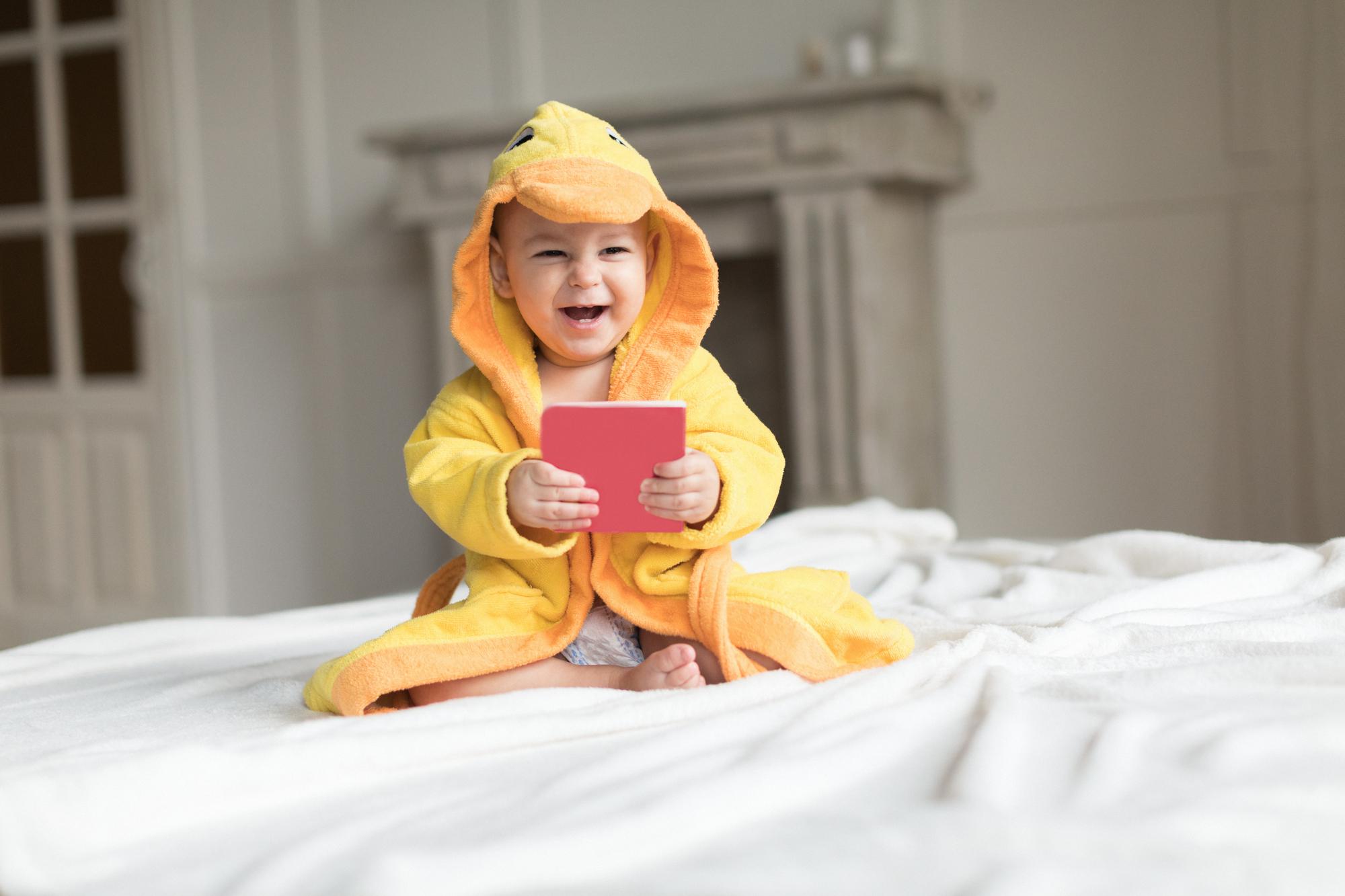 Czy bajki są odpowiednie dla niemowląt?